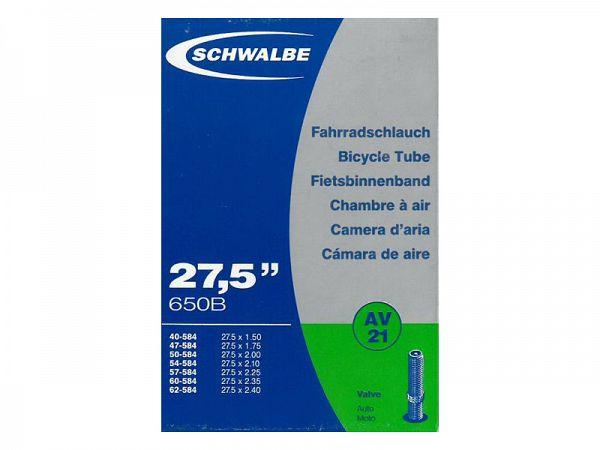 Schwalbe Cykelslange 27,5x1,5/2,40, 40mm Autoventil (AV21)