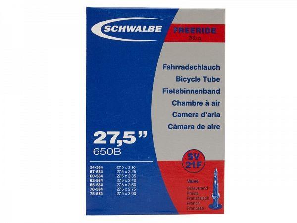 Schwalbe Cykelslange 27.5x2.10-3.00, Racerventil (SV21F)