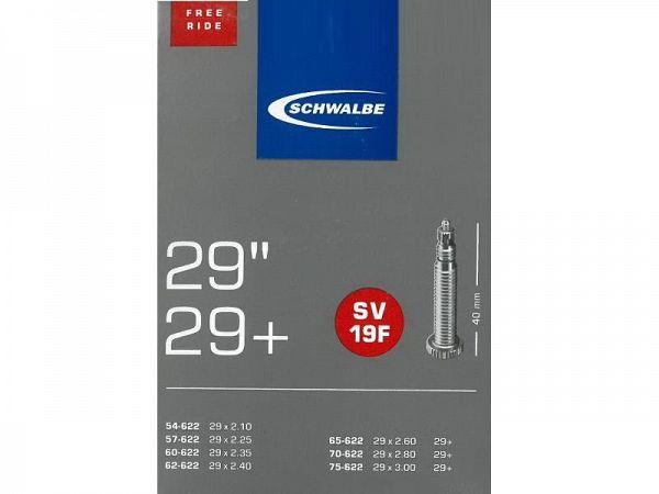 Schwalbe Cykelslange 29x2.10-3.00, Racerventil (SV19F)