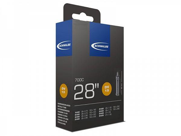 Schwalbe Cykelslange 700x18/28C, 40mm Dunlop Ventil (DV15)