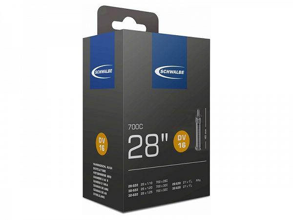 Schwalbe Cykelslange 700x28/32C, 40mm Dunlop Ventil (DV16)