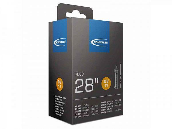 Schwalbe Cykelslange 700x28/45C, 40mm Dunlop Ventil (DV17)