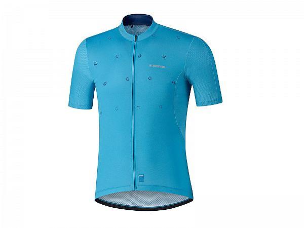 Shimano Aerolite Cykeltrøje, Blue