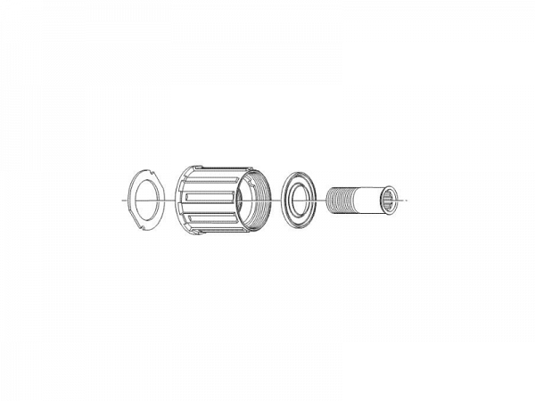 Shimano Deore FH-M595 8/9/10-Speed Kassettehus