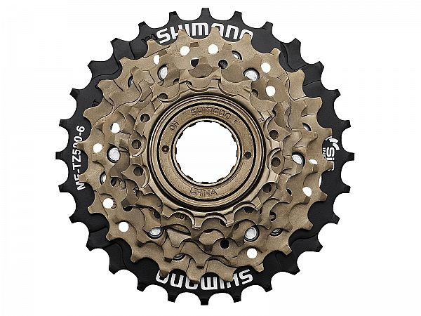 Shimano MF-TZ500 6-Speed Skruekrans, 14-28T
