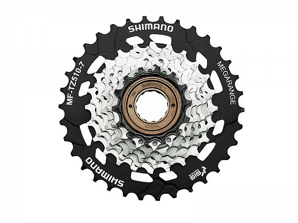 Shimano MF-TZ510 7-Speed Skruekrans, 14-34T