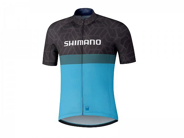 Shimano Team Cykeltrøje, Black/Blue