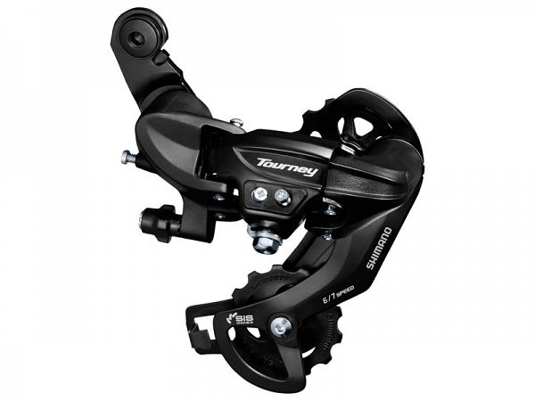 Shimano Tourney TY300 6/7-Speed Bagskifter, Max 34T
