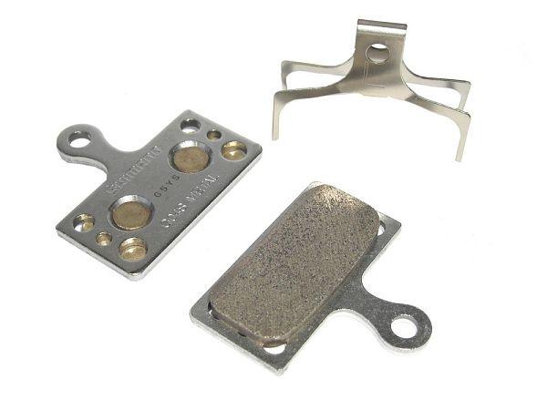 Shimano XT G04S Metal Bremseklodser
