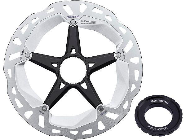 Shimano XT MT800 Centerlock Bremseskive, 180mm