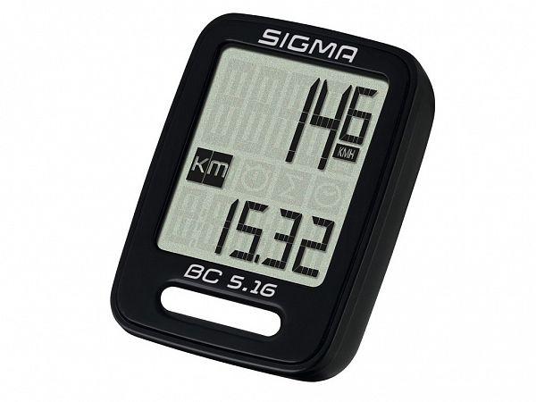 Sigma BC 5.16 Kablet Cykelcomputer