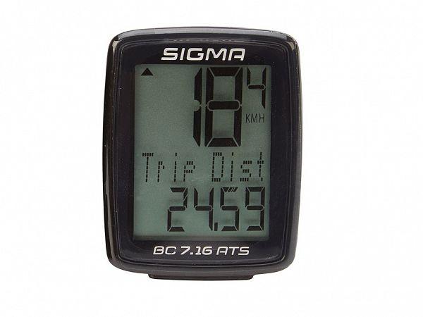 Sigma BC 7.16 Trådløs Cykelcomputer