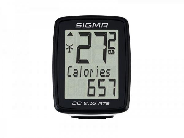 Sigma BC 9.16 ATS Trådløs Cykelcomputer
