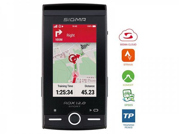 Sigma Rox 12.0 GPS Cykelcomputer, Grey