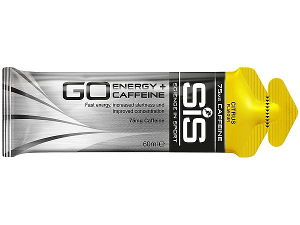 SiS GO Energy + Koffein Citrus Gel, 60ml