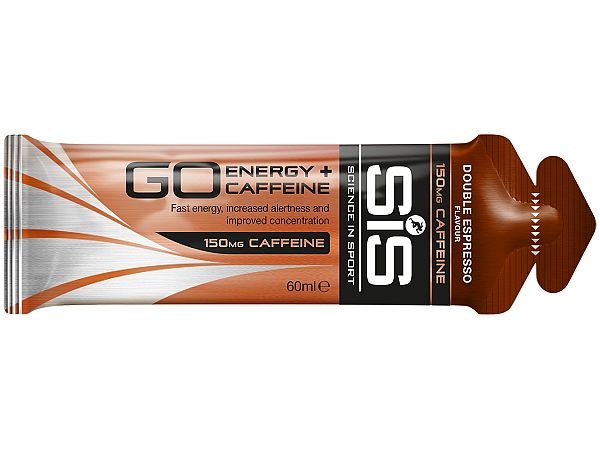 SiS GO Energy + Koffein Double Espresso Gel, 60ml