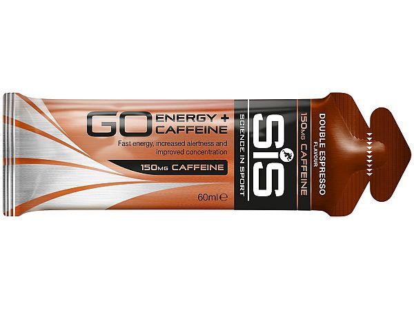 SiS GO Energy + Koffein Double Espresso Gel, 60ml