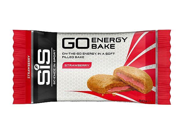 SIS Go Jordbær Bake Bar, 50 gr