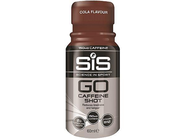 SiS GO Range Cola Koffein Shot, 60ml - Udløb feb. 2020