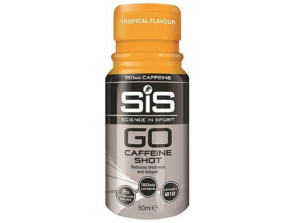 SiS GO Range Tropisk Koffein Shot, 60ml