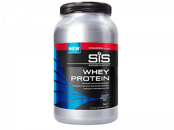 SiS UCI Godkendt Whey Protein, Jordbær 1000g