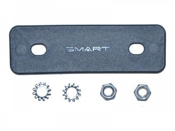 Smart 50mm Kurvebeslag, Black
