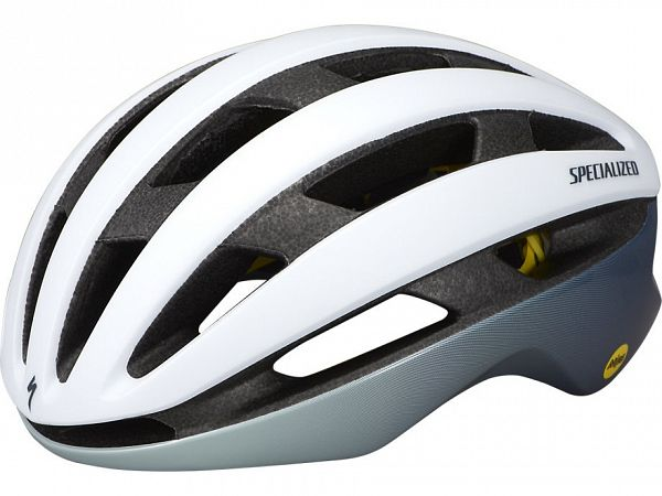 Specialized Airnet Mips Cykelhjelm, Satin White/ Gloss Ice Blue