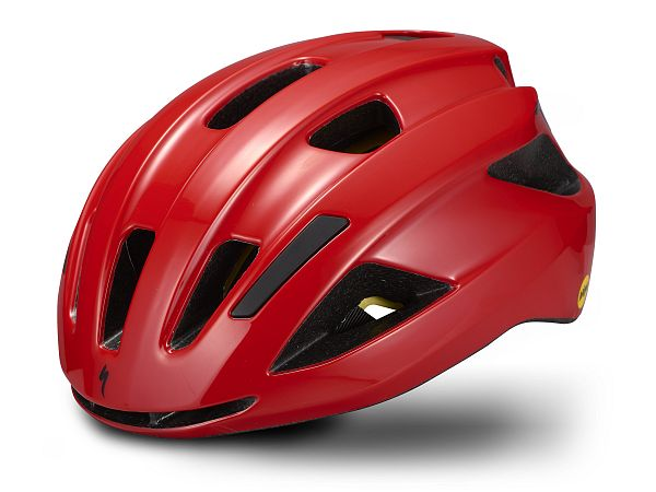 Specialized Align II Mips Cykelhjelm, Gloss Flo Red