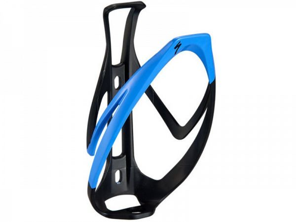 Specialized Rib Cage II Flaskeholder, Matte Black/Sky Blue