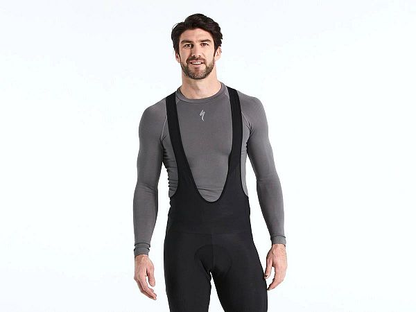 Specialized Seamless LS Base Layer, Grey