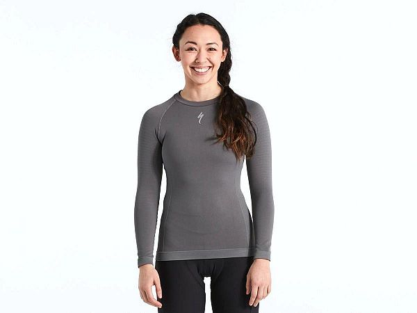 Specialized Seamless LS Dame Base Layer, Grey