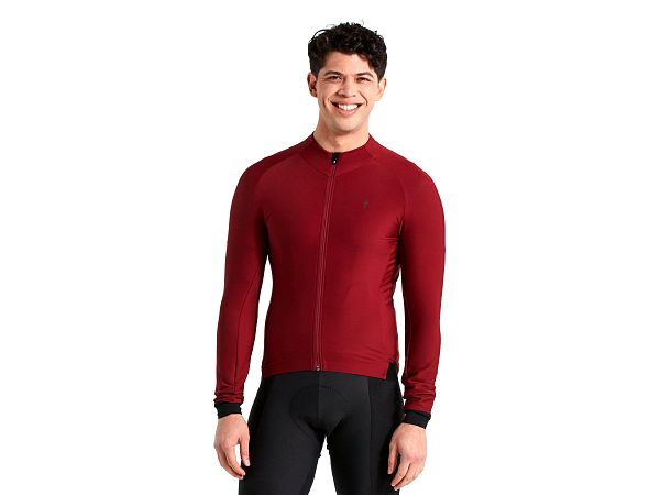 Specialized SL Expert LS Thermal Jersey, Maroon