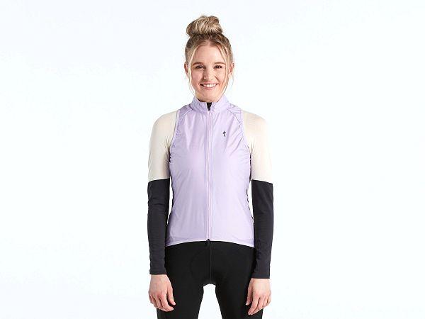 Specialized SL Pro Wind Dame Vest, UV Lilac