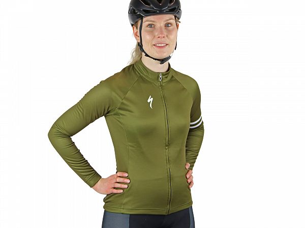 Specialized Thermal Jersey Dame Cykeltrøje, Full Custom