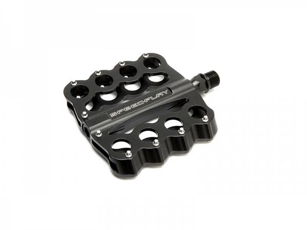 Speedplay Brass Knuckles Crome-Moly Pedaler, Black