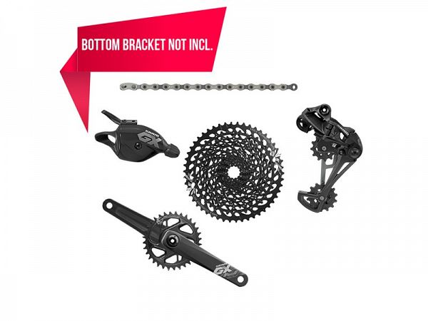 Sram GX Eagle BB30 1x12-Speed Geargruppe