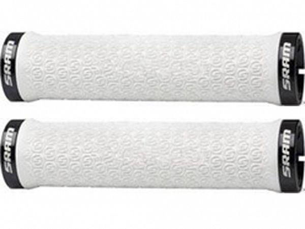 Sram Locking Grips White Håndtag, 135mm