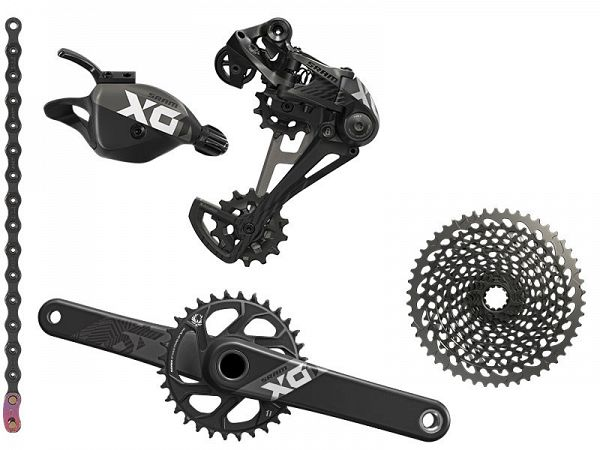 Sram X01 Eagle BB30 1x12-Speed Geargruppe