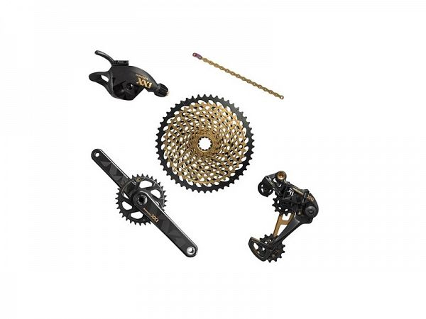 Sram XX1  Eagle Gold GXP 1x12-Speed Geargruppe