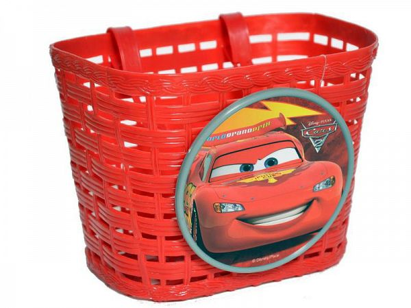 Stamp Biler/Cars Børnecykelkurv