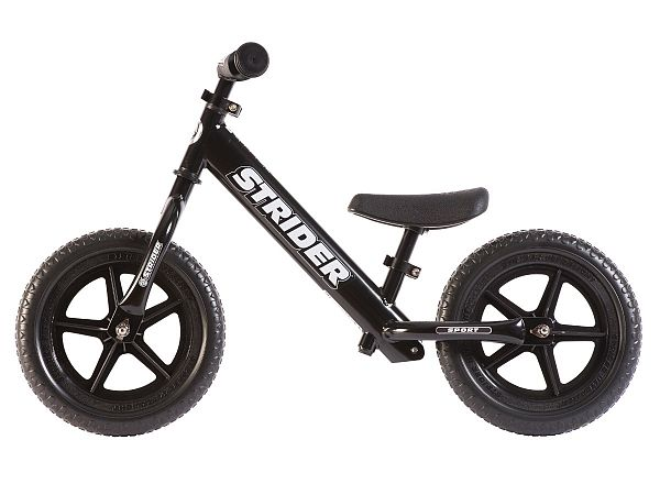 "Strider Sport 12"" Løbecykel, Black"