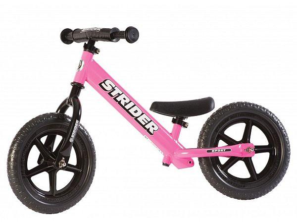 """Strider Sport 12"""" Løbecykel, Pink"""