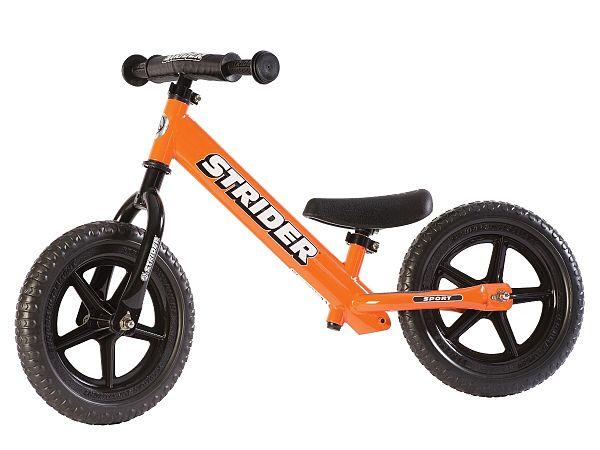 """Strider Sport 12"""" orange - Løbecykel - 2019"""