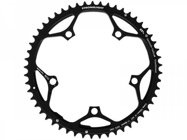 Stronglight Campagnolo 11-Speed Klinge, 53T