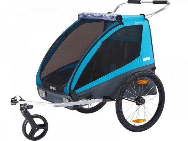 Thule Coaster XT Cykelvogn, Black/Blue