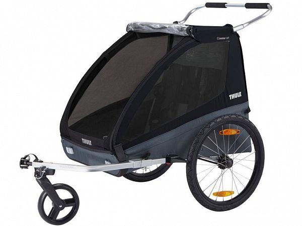 Thule Coaster XT Cykelvogn, Black