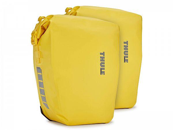 Thule Shield Pannier Yellow Cykeltasker, 2 x 25L
