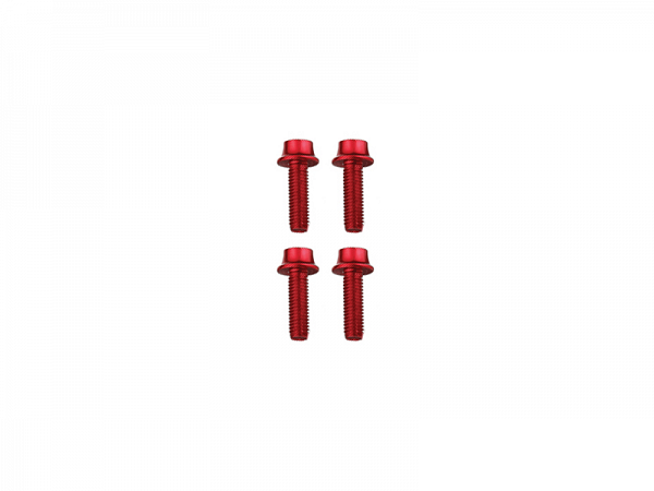 Token Alu Bolte, Red, M5x16mm