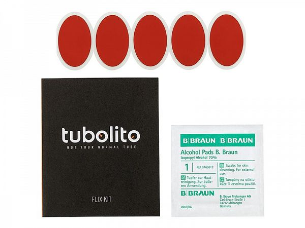 Tubolito Glueless Flix-Kit, 5 stk