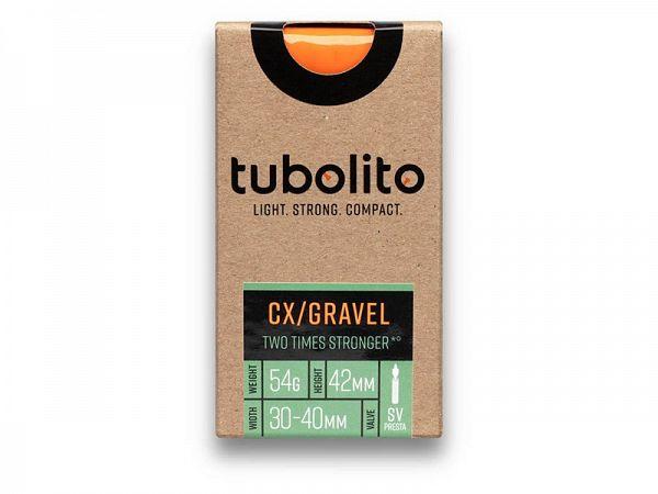 Tubolito Tube-Gravel 700 x 30-47C Cykelslange, 42mm Racerventil